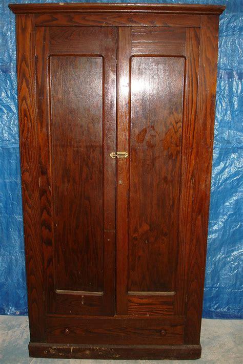 Antique Closet Doors Wardrobe Closet Antique Wood Wardrobe Closet