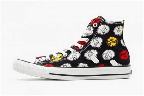 Spesial Edition Digitec Ga Series Kanvas simpsons x converse chuck all with all