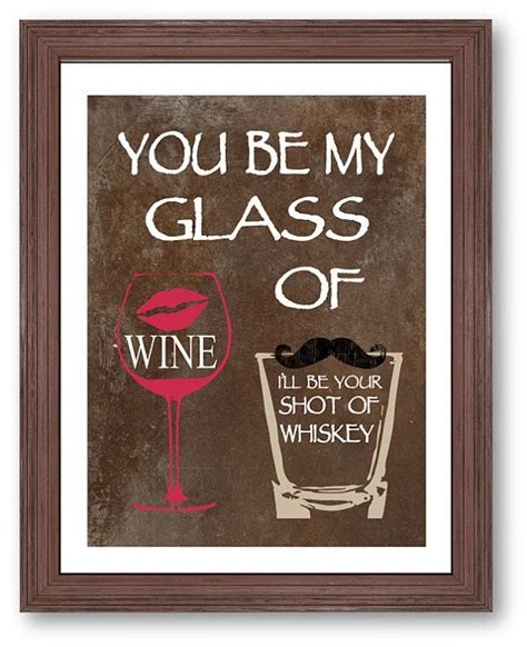 printable lyrics honey bee blake shelton you be my glass of wine art print i ll be your shot of