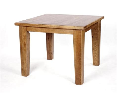 Square Rustic Dining Table by Rutland Solid Oak Rustic Furniture Square Dining Table Ebay