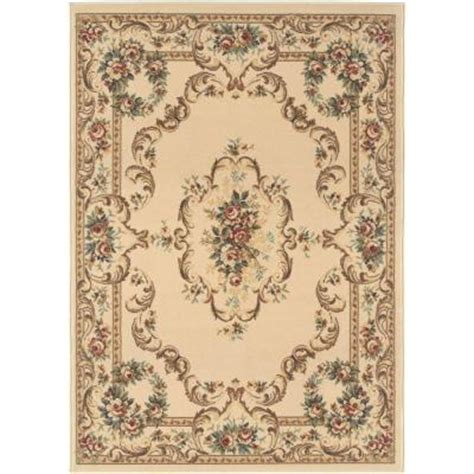 home depot area rugs 5x7 tayse rugs laguna beige 5 ft x 7 ft traditional area rug