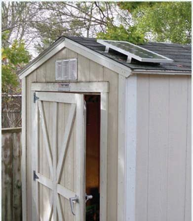 Solar Power Kits For Sheds by Solectric Shed Pak Solar Powered Lighting Kit Self