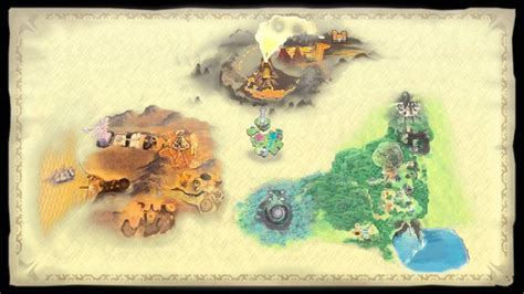 legend of zelda world map the legend of zelda skyward sword world map hd youtube