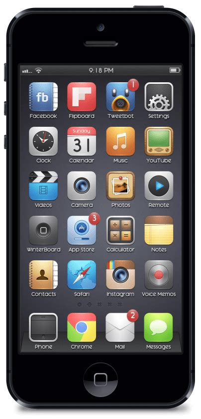 black jailbreak themes 10 best cydia themes for iphone
