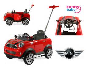 minikbaby baby zw455ep mini cooper push car