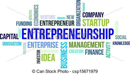 Art Startup by Vectors Illustration Of Word Cloud Entrepreneurship A