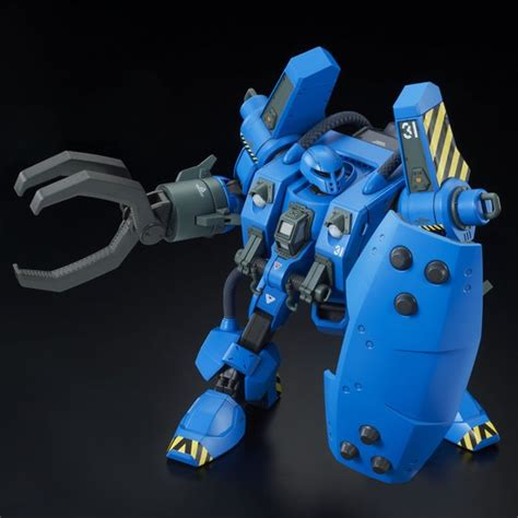 Hguc Mobile Worker Mw 01 Model 01 Late Type Mash The Origin mobile workers from gundam the origin now available as figures interest anime news network