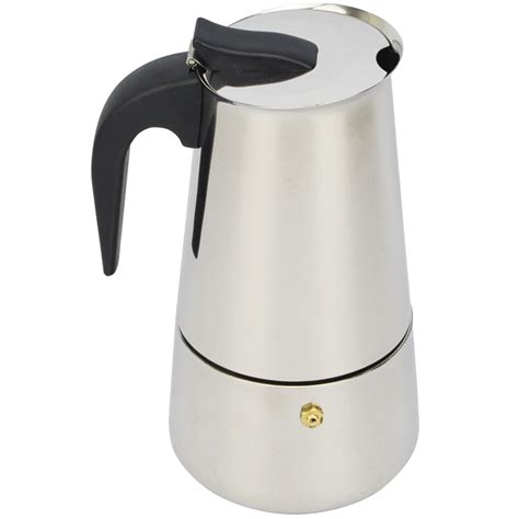 Coffee Pot Teko Kopi Espresso Pot Moka Pot Alumunium 2 Cup Ekonomis new 2 4 6 9 cups moka espresso coffee maker espresso cup coffee moka pot latte percolator stove