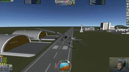 format gif program crosswind landing in kerbal space program gif create