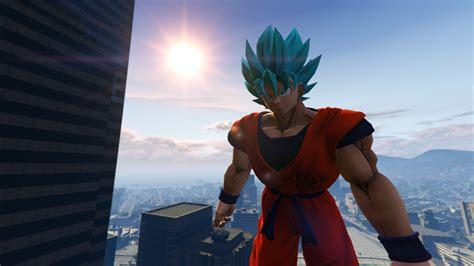 mod gta 5 goku dragon ball z goku gta5 mods com