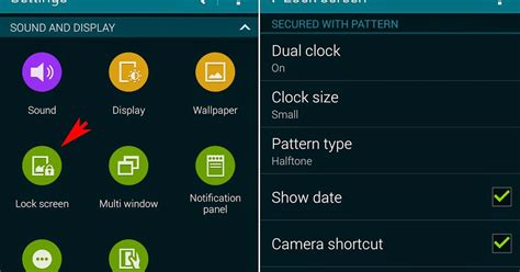how to disable pattern lock in android kitkat samsung galaxy s5 how to show or hide pattern on lock