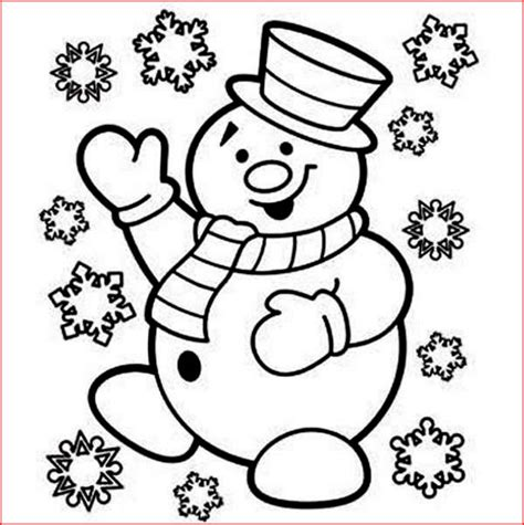 snowman coloring page coloring pages snowman coloring pages free and