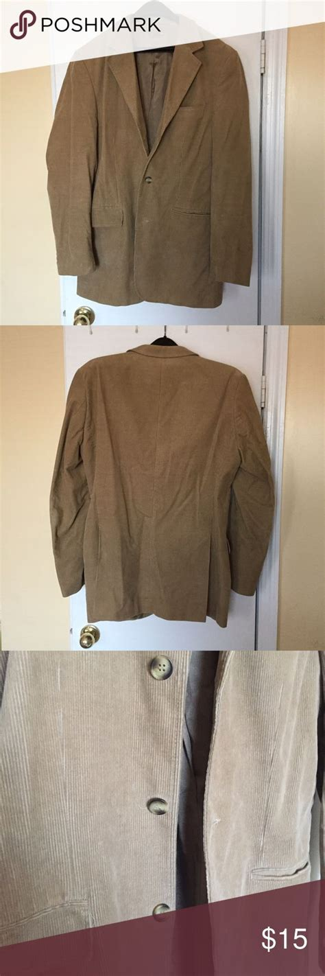 Corduroy Button Coat s corduroy 3 button jacket coats blazers and