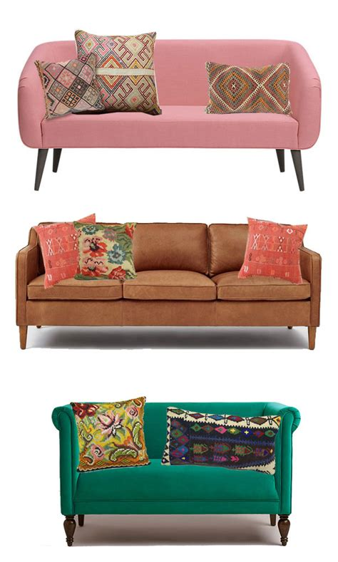 how to choose a couch how to pick and style throw pillows the jungalowthe jungalow