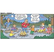 Camping With The Bears Cartoon Shows All Comic Strip
