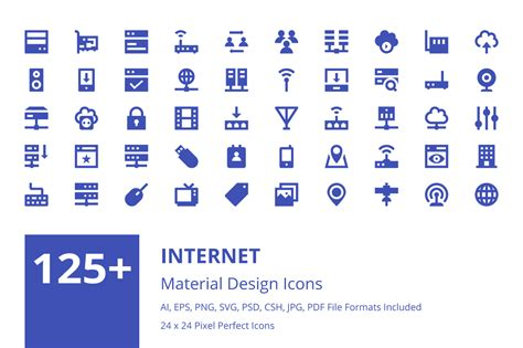 material design icon usage 125 internet material design icons creative stall