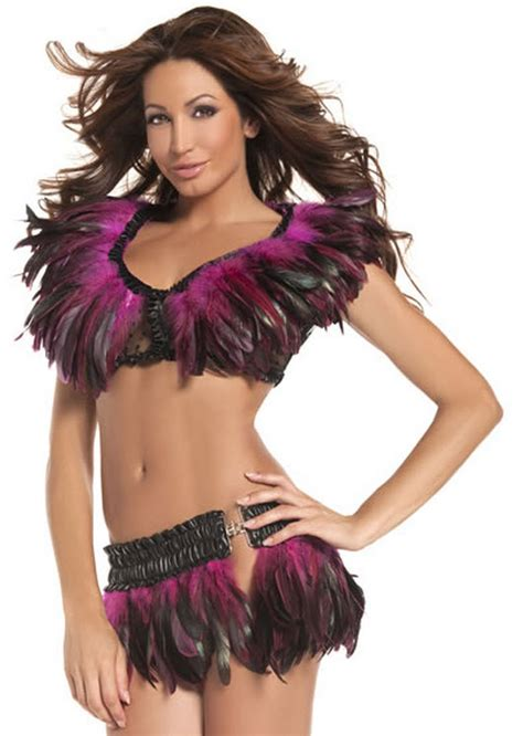 Peacock Feather Home Decor women s feather mini skirt adult costumes
