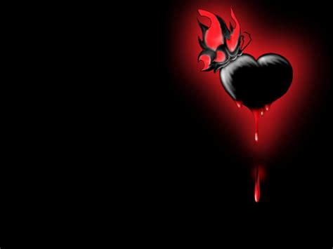 wallpaper dark heart black heart wallpaper 43623 hd wallpapers background
