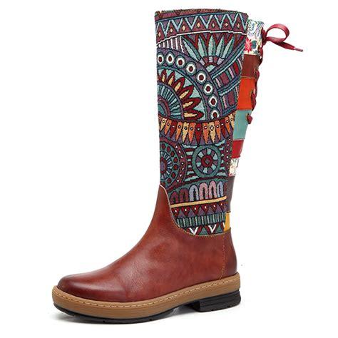 Designer Socofy Sooo Comfy Vintage - designer socofy sooo comfy vintage handmade ankle