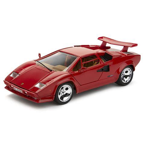 Bburago Lamborghini Countach Bburago Lamborghini Countach 5000 1 24 Quattrovalvole