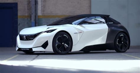 peugeot from peugeot fractal futuristic electric car concept