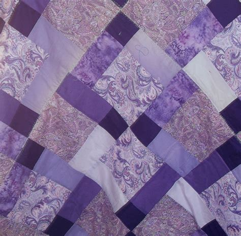 Violet Quilt by Quilting Squares