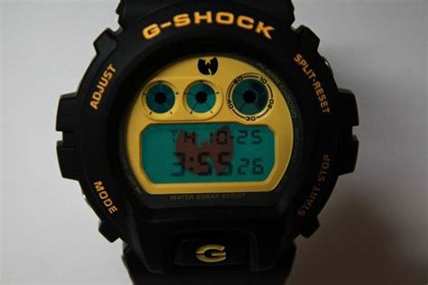 G Shock Wu Tang Wu Tang Clan X Casio G Shock Dw 6900 Available