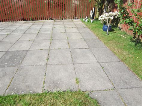 patio slabs clean moss algae lichens patios slabs pavers drives