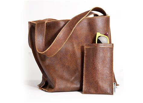 brown leather bag soft leather tote bag bag