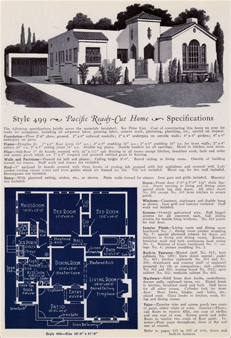 1925 pacific ready cut homes california eclectic