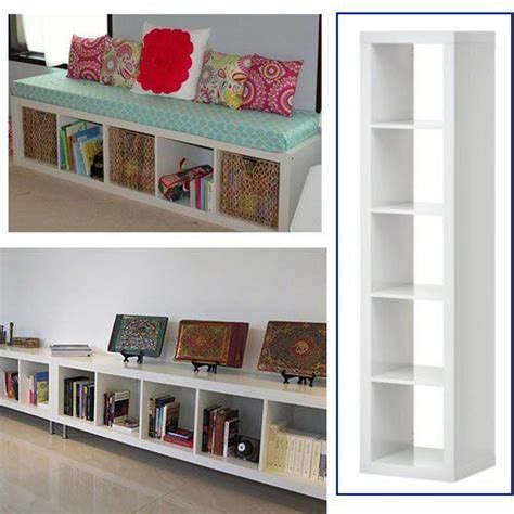 ikea bookshelves ideas ikea expedit bookcase white multi use 109 00 bookcase shelves bookshelves ideas