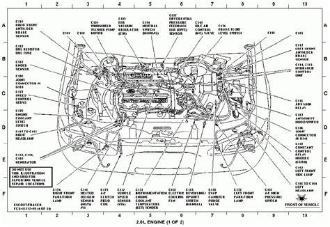 motor repair manual 1998 mercury tracer security system 1999 ford vacuum diagram imageresizertool com