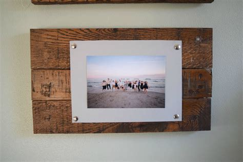 picture frame designs woodworking diy rustic scrap wood picture frames spotlight favorite photos