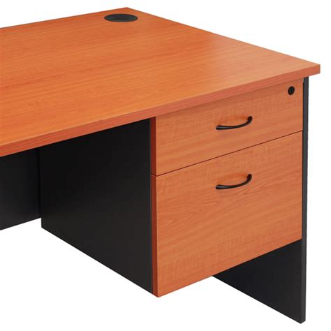 Office Desk With Drawers Corporate Fixed Drawer Unit To Suit Corporate Desk Value Office Furniture