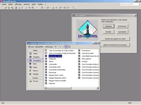 Forms Design Software activewin office xp with frontpage access 2002 review
