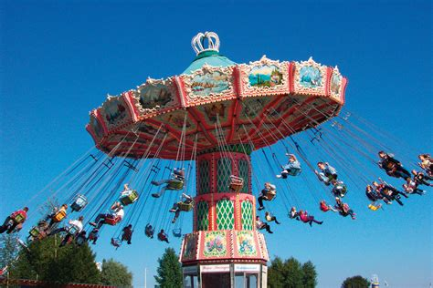 theme park attractions sarkanniemi park tere finland carousel attraction