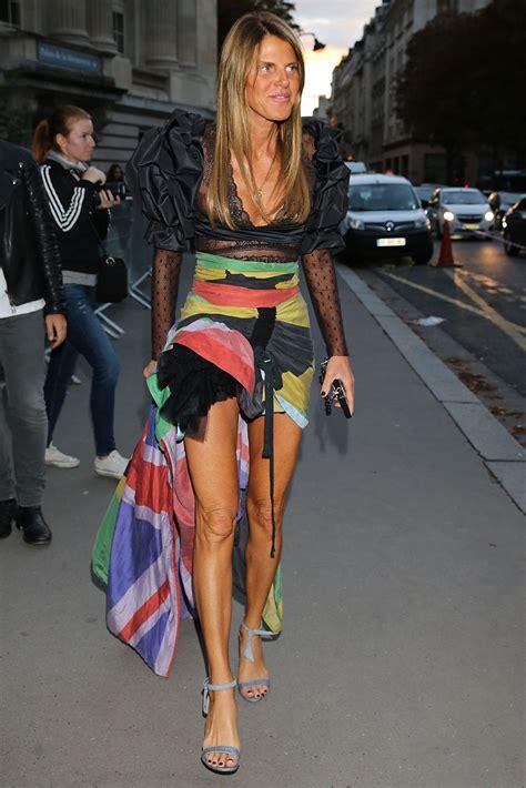 Anna Dello Russo At Nina Ricci Fashion Show In Paris 10 1 2016