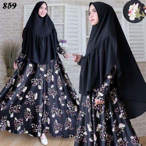 Jilbab Syari Maxmara Baju Muslim Maxmara Syari C859 Busana Gamis Terbaru