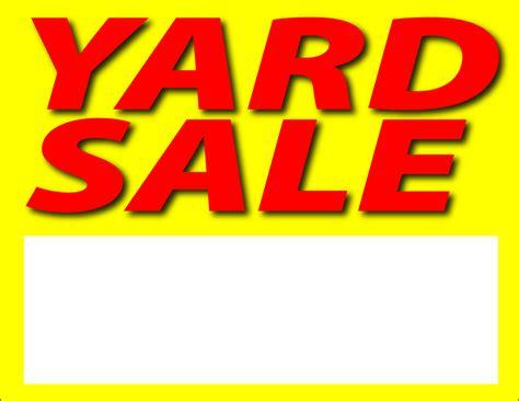yard sale today yard signs zazzle