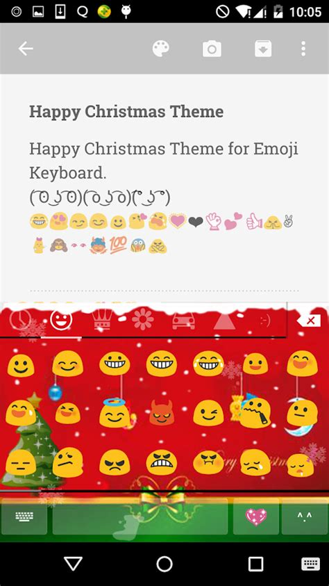 email themes emoji keyboard merry christmas emoji keyboard android apps on google play