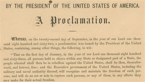 Emancipation Proclamation Copy Signed by Lincoln for Sale ... Emancipation Proclamation Actual Document