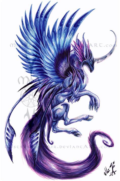 purple qilin by sysirauta on deviantart