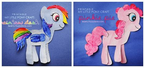 my pony crafts for 11 adorable my pony crafts
