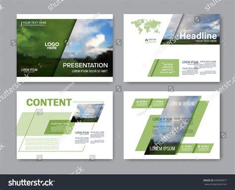 powerpoint set template set presentation layout design template powerpoint stock
