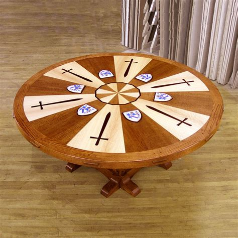 king arthur table king arthur s table paul downs cabinetmakers
