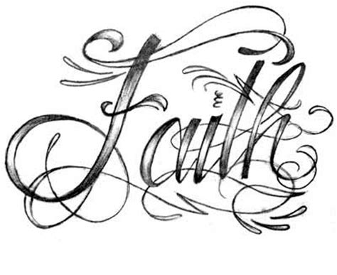 faith tattoo font photo by sykie 510209 photobucket