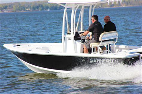 reviews on sea pro boats sea pro 208 bay boat review fishing reports coastal
