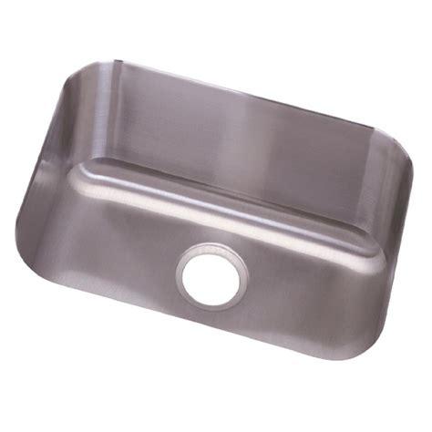 dayton bowl kitchen sink elkay lustertone undermount stainless steel 24 in single