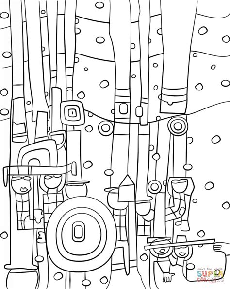 libro hundertwasser colouring book colouring blue blues by friedensreich hundertwasser coloring page free printable coloring pages