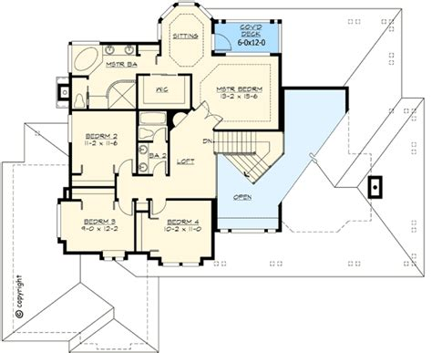 mission style in two versions 36346tx 2nd floor master suite butler walk in pantry cad craftsman style porch 2313jd 2nd floor master suite